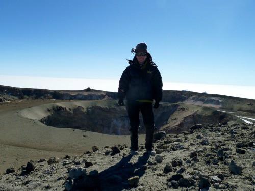 diary Kilimanjaro ash pit