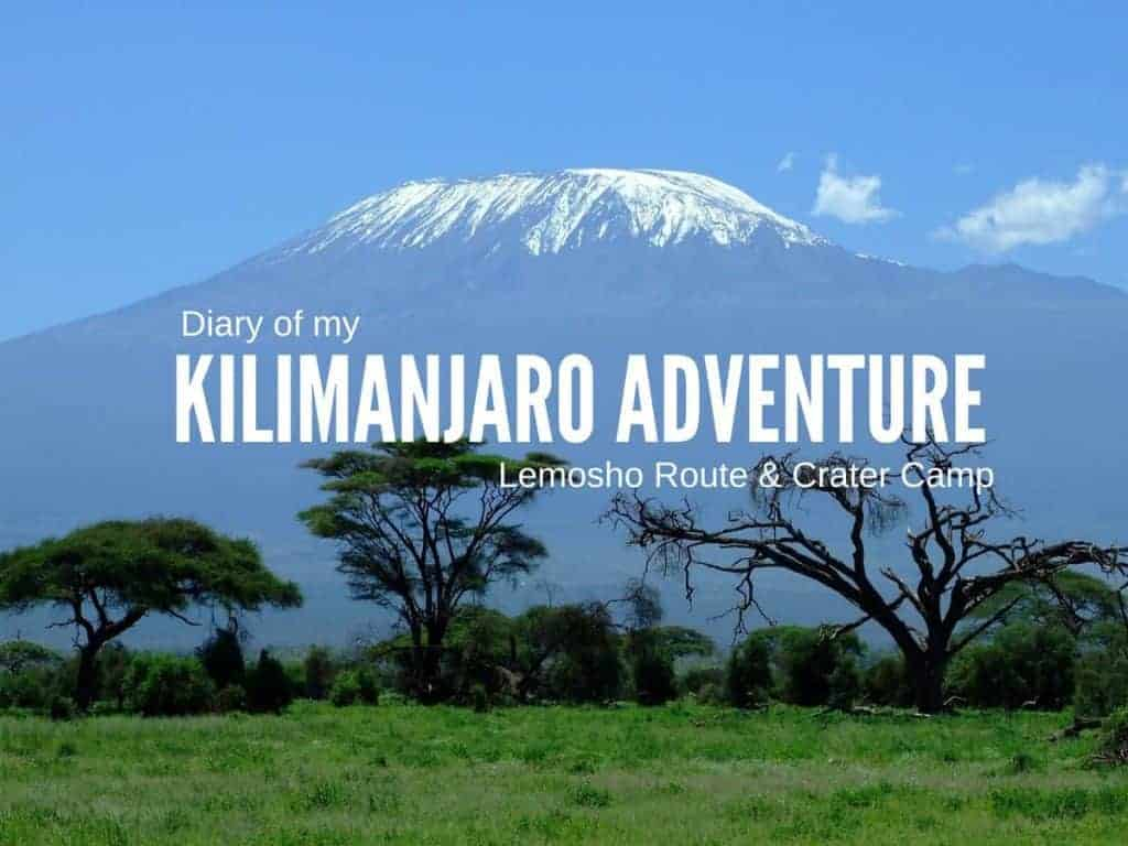 kilimanjaro diary