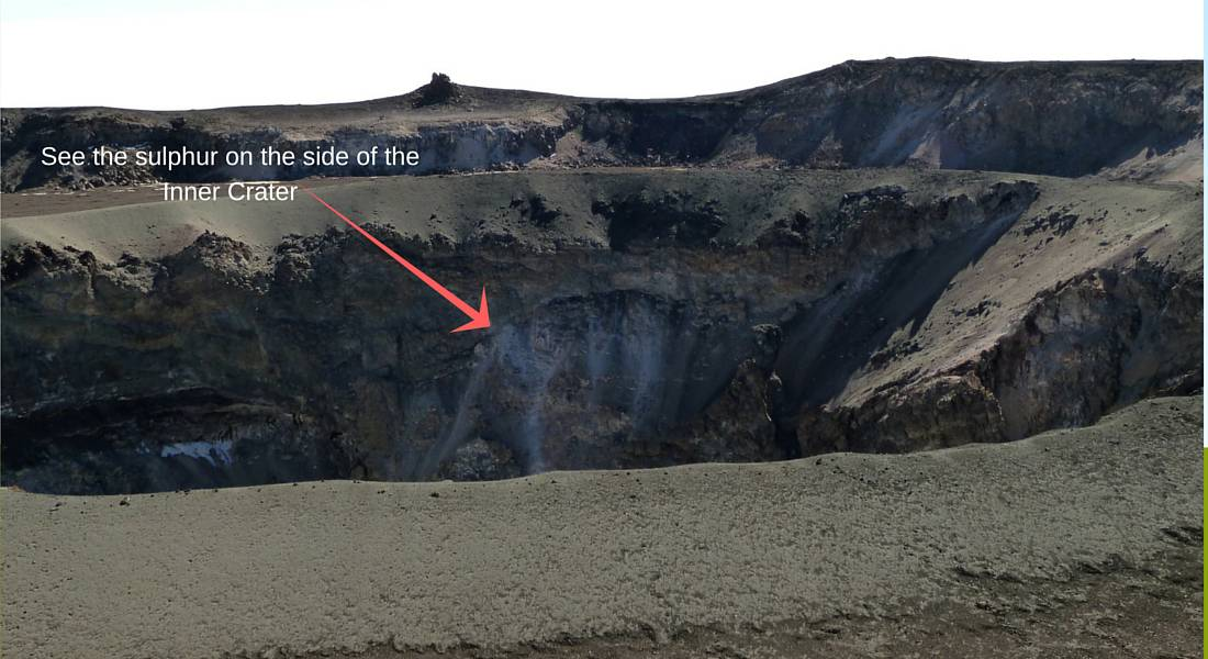 Ash Pit inner crater
