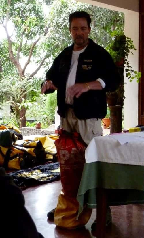 Kilimanjaro tours - safety briefing