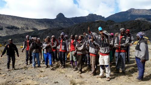 Kilimanjaro tours porters
