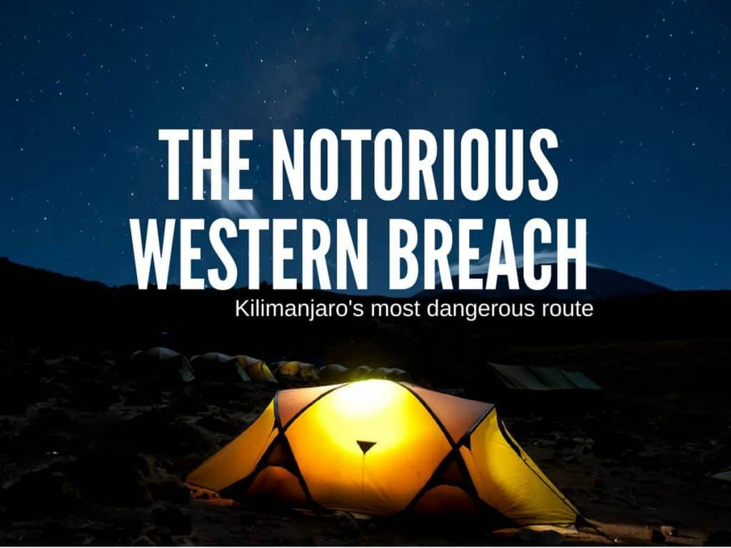 danger on the western breach