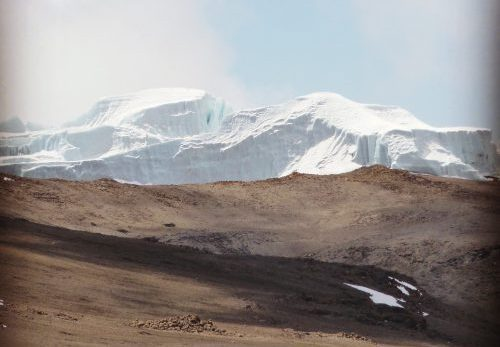 Kilimanjaro arctic summit zone
