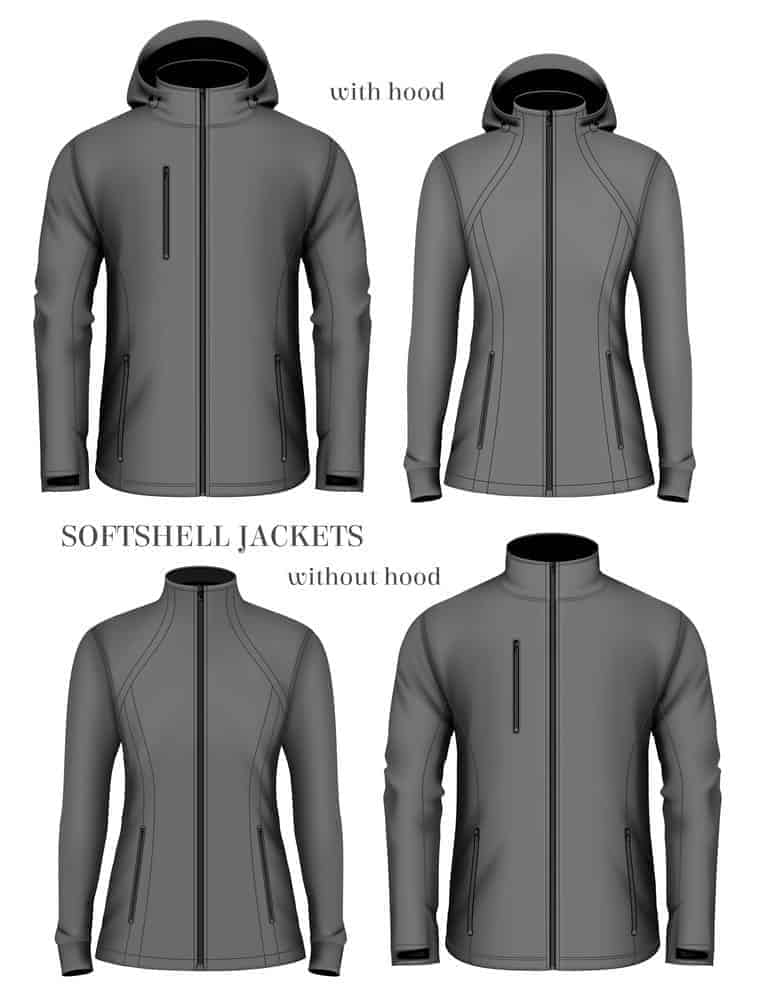 softshell jackets for hiking