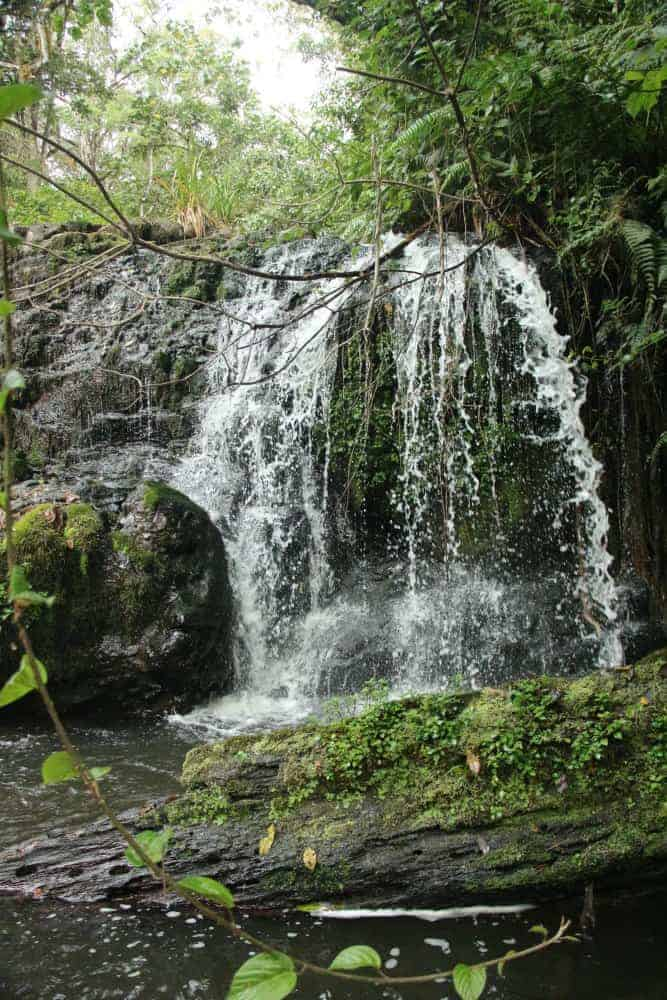Waterfall on Mt Kenya
