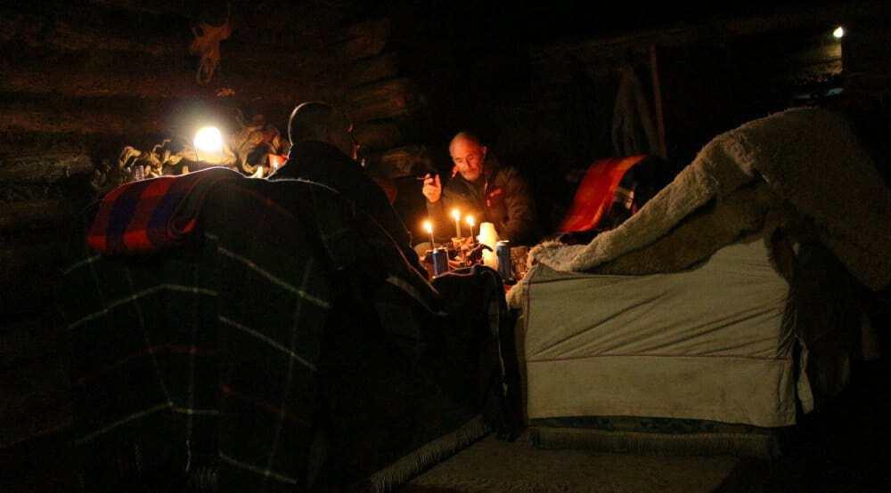 Rutundu huts, Mt Kenya
