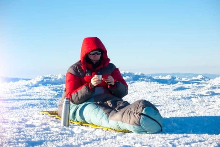 sleeping pads are essential for cold weather camping