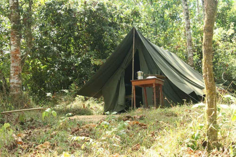 Camping mount kenya