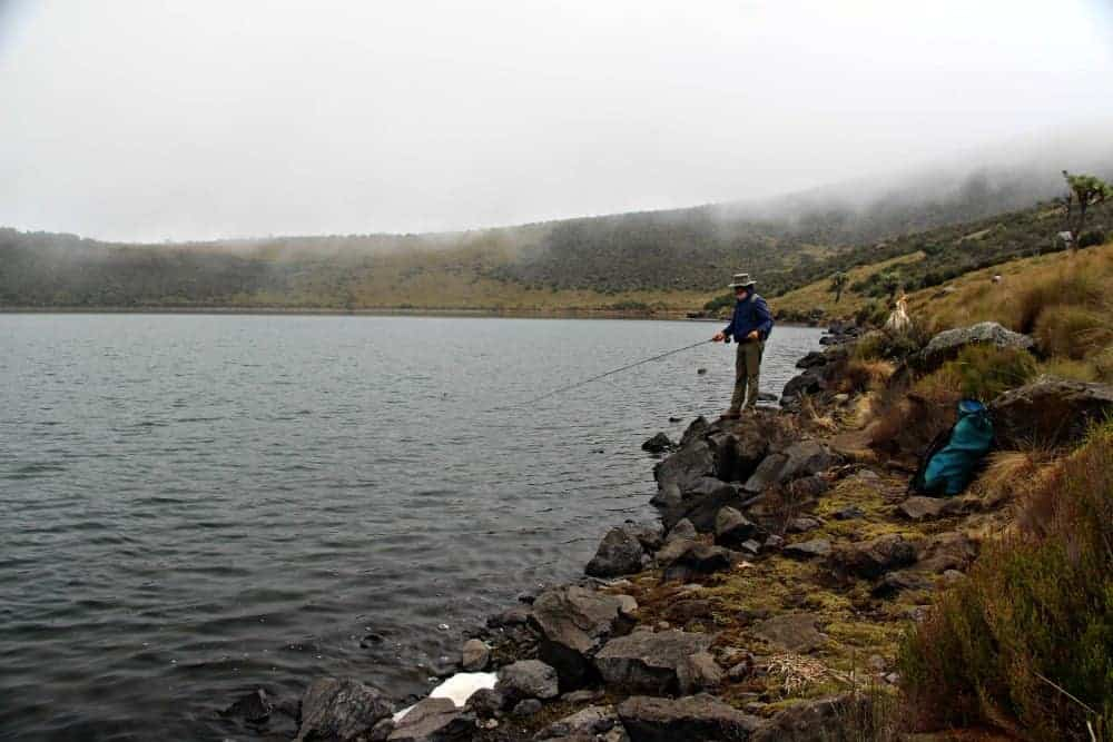 fly fishing in Kenya