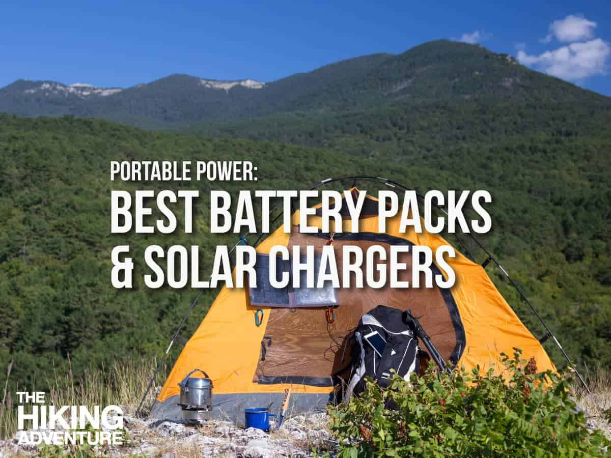 Best Portable Battery Chargers For Camping Hiking 2018 The Solar Powered Mobile Phone Charger Ecn Blog Adventure