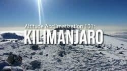 How to Acclimatize when Climbing Kilimanjaro