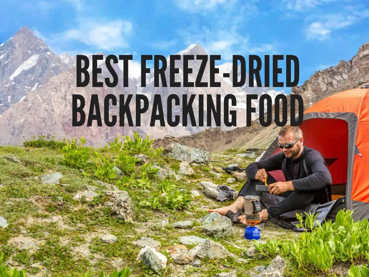 freeze dried backpacking food