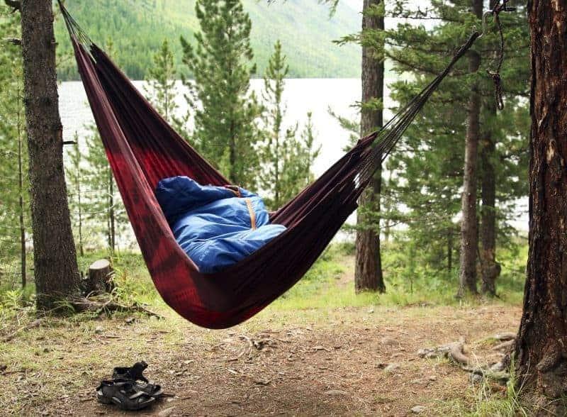 Hammock camping can be fun