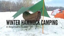 Winter Hammock Camping: How to Stay Warm in a Hammock