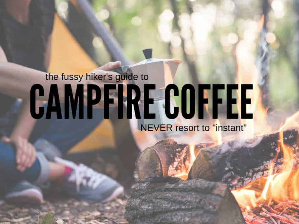 camp coffee techniques