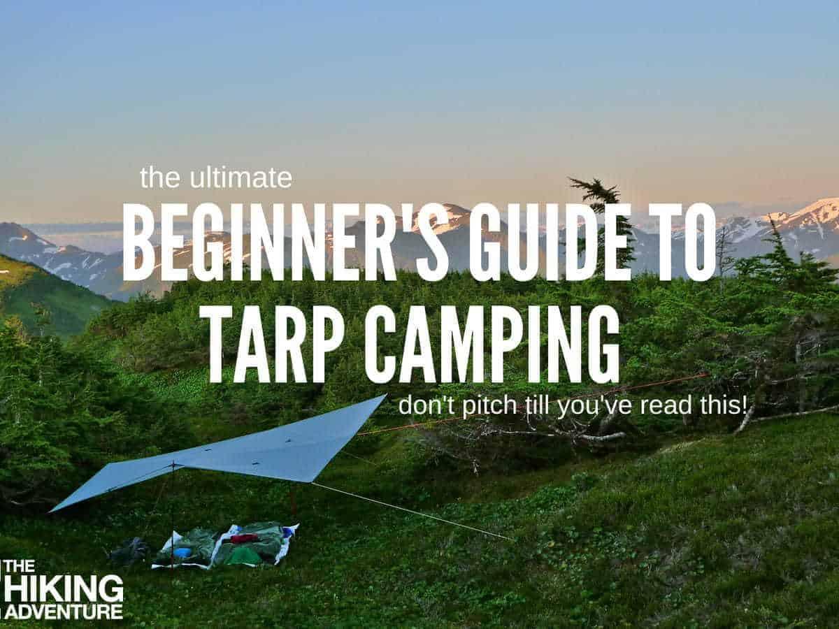 tarp camping setups