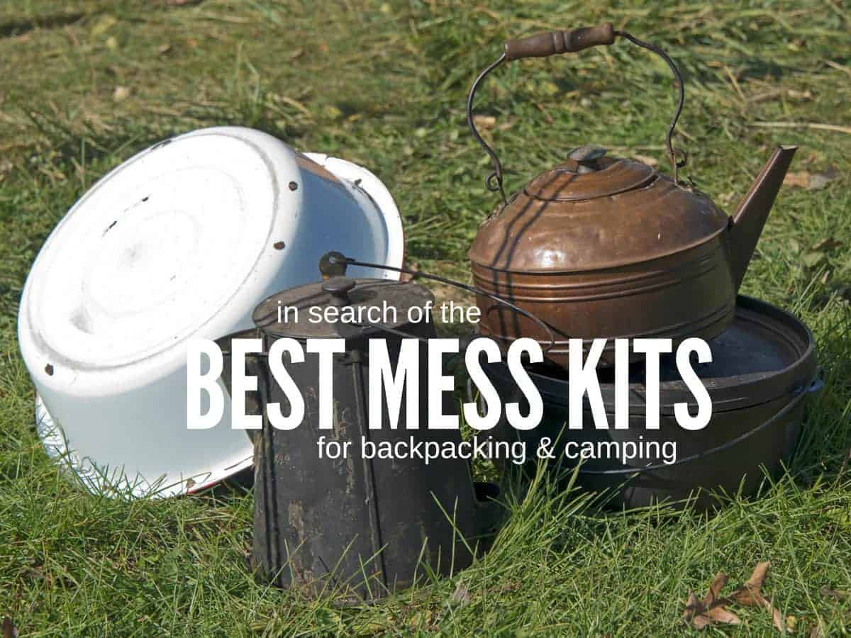 mess kits for backpacking wouldn't be this heavy!