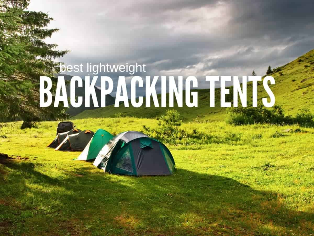 best lightweight backpacking tents in a row camping