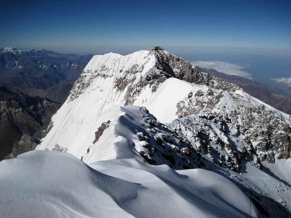 Aconcagua, a tough hike to the top