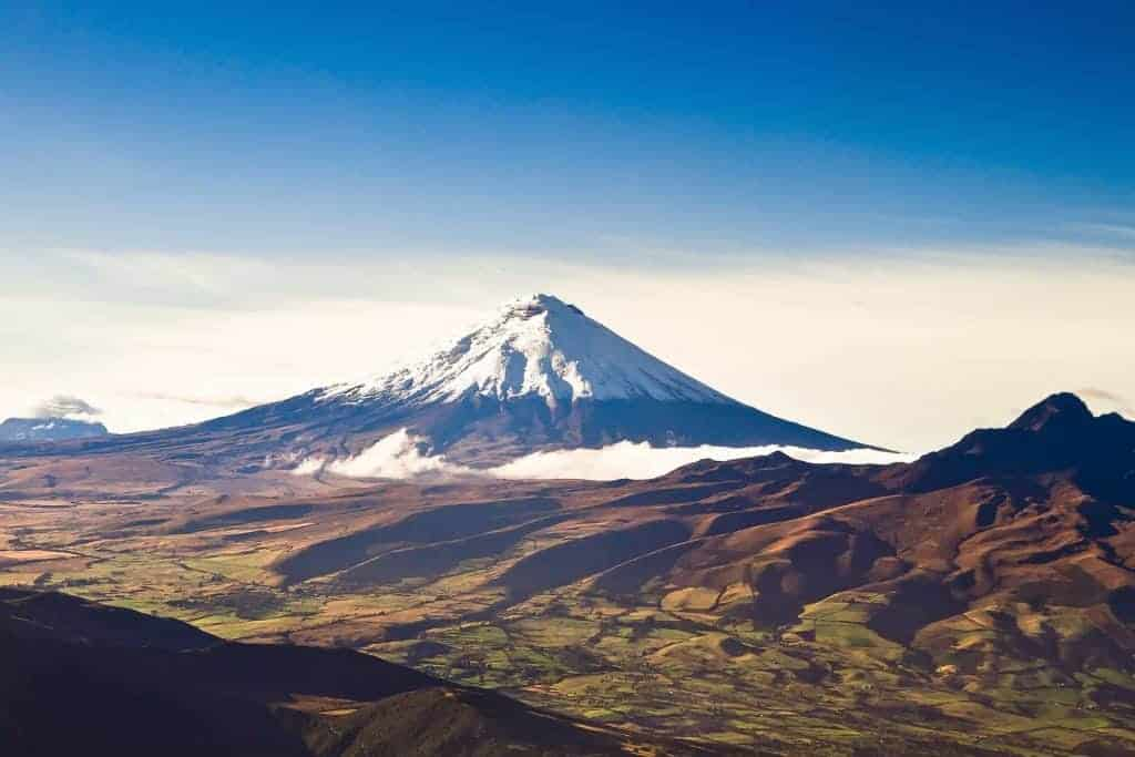 Cotopaxi, a challenging non-technical peak