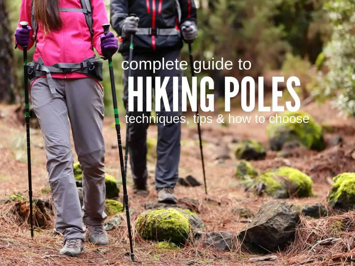 how to choose the best hiking poles featured image