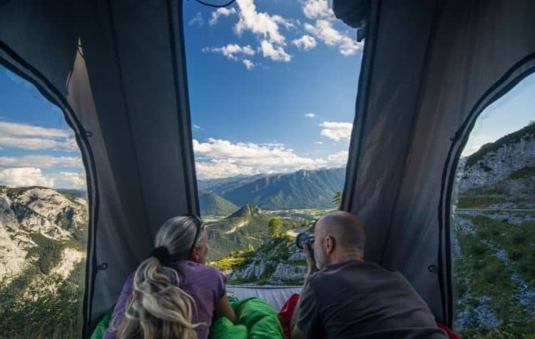 2 person rooftop tent