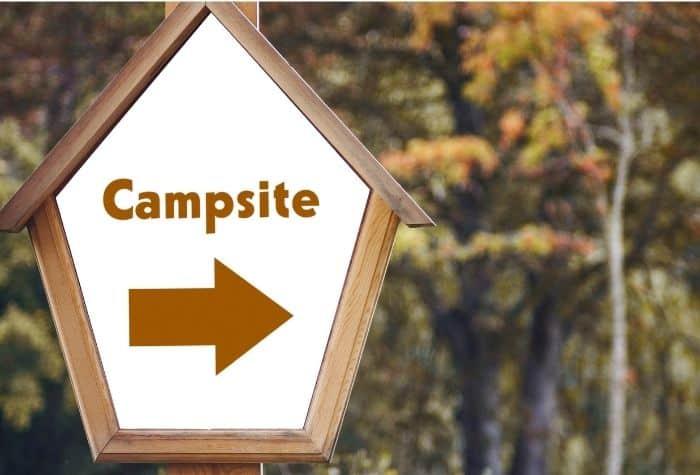 campsites near me