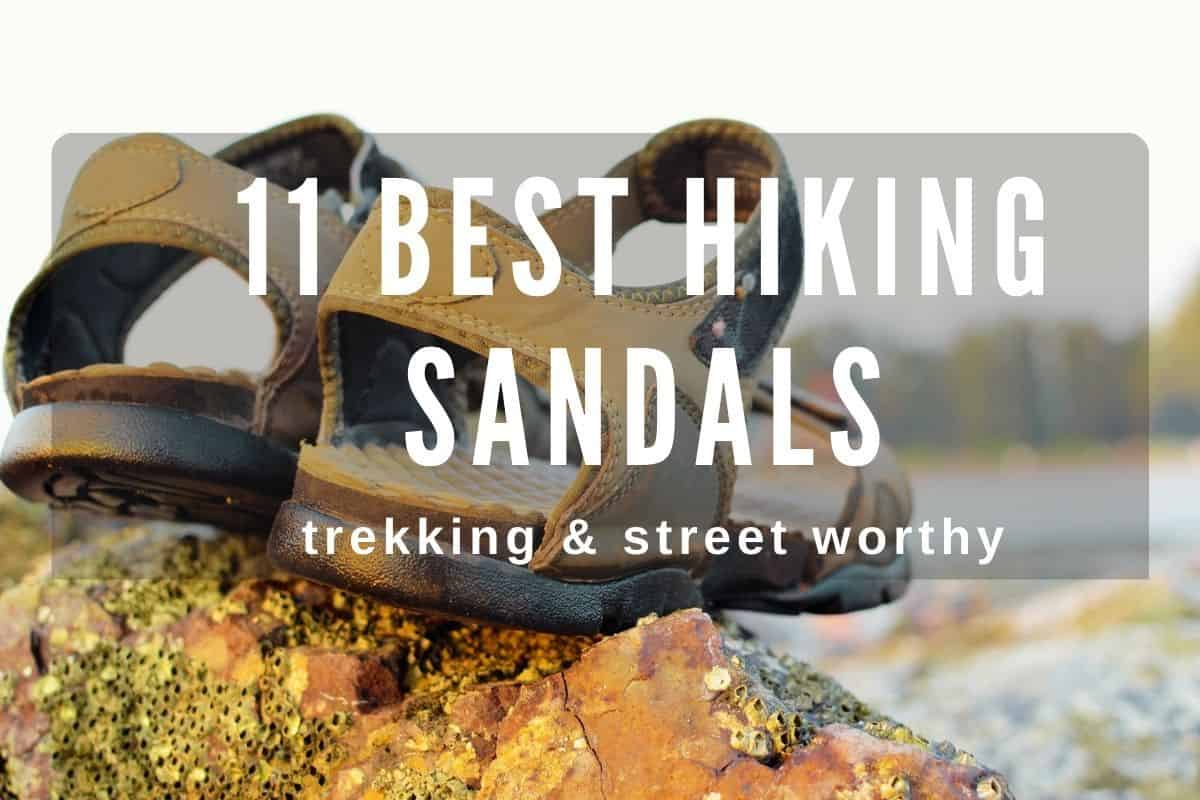 11 best hiking sandals