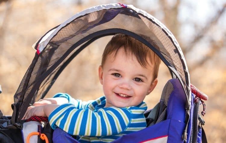 sunhood baby carrier