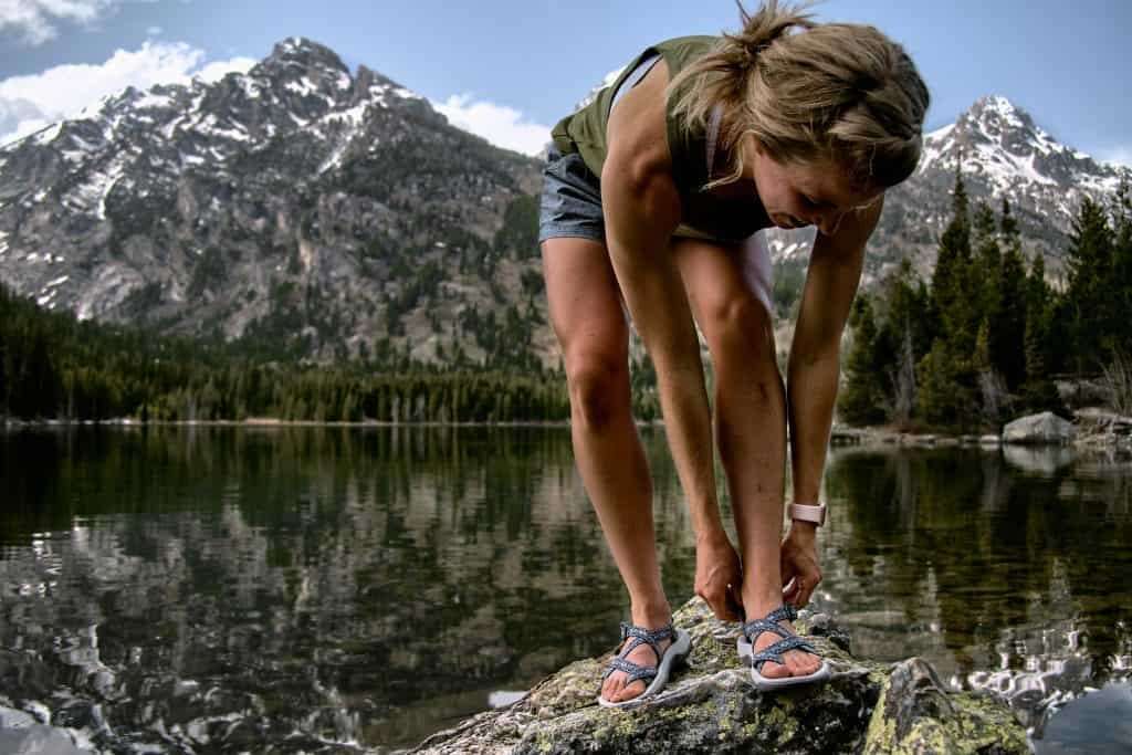Viakix Cortana Adjustable straps hiking sandal for women