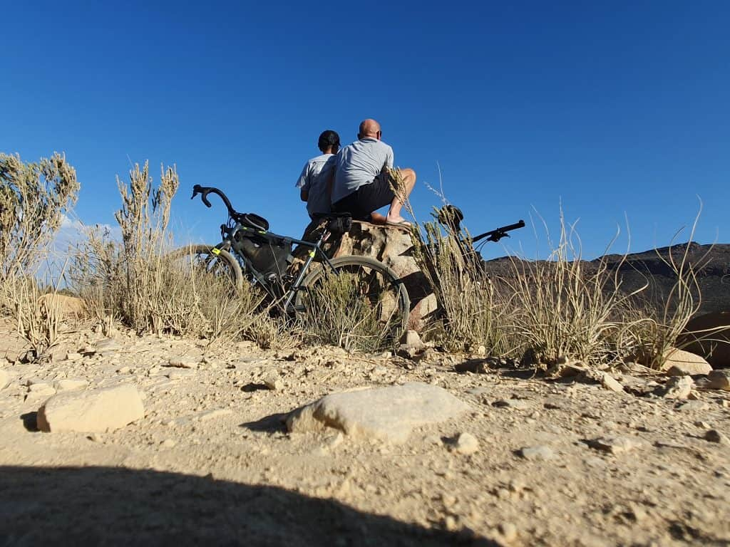 last view in cederberg south africa