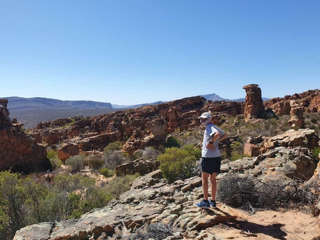 Checking out Cederberg national park views