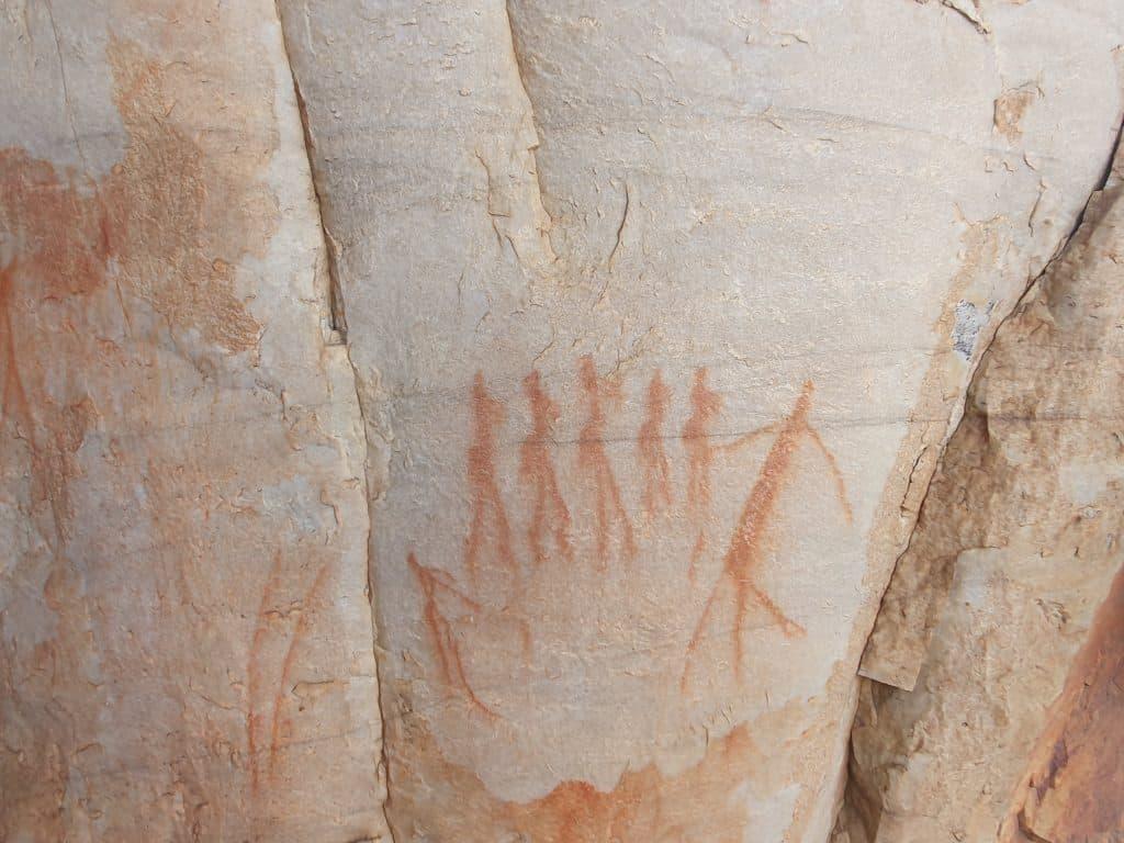 hieroglyphs in cederberg