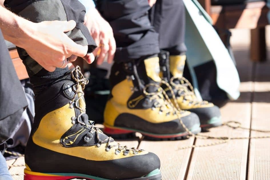 How comfortable are mountaineering boots